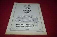 Allis Chalmers 21HS 21 CS 21HA 21CA 21HSF Dozer Dealer's Parts Book DCPA6