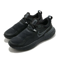 Nike React Miler Shield Black Anthracite Men Running Shoes Sneakers CQ7888-001