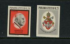 Panama 1964  #C331-2  Pope John XXIII  IMPERF  2v.  MNH  J647