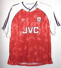 Arsenal Home Football Shirt 1990-1992 Season Authentic Adidas Large 42/44