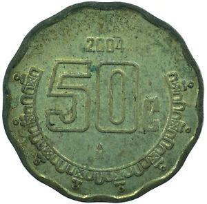 COIN / MEXICO  50 CENTAVOS  2004      #WT26611