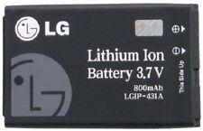 NEW OEM LG UX220 CB360 CE110 CP150 LGIP-431A BATTERY 220C G100 NITE LG230
