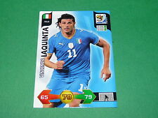 IAQUINTA  ITALIA  PANINI FOOTBALL FIFA WORLD CUP 2010 CARD ADRENALYN XL