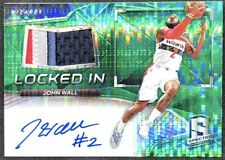 2016-17 Panini Spectra John Wall Locked In Patch Auto 1/5 #60 WIZARDS