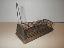 Antique Primitive Wire Metal Mouse Trap 1800's Early Live Catch - ESTATE FIND!