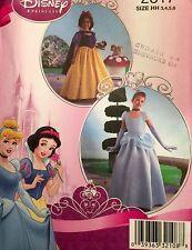 NUOVO 2008 CHILD'S Disney Princess Biancaneve/BELLE Costume Pattern 2817 Taglie 3-6