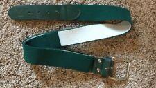 "Russell Athletics Baseball Softball Belt Adjustable 1.5"" Wide 27�-42� Green"