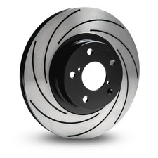 Tarox F2000 Front Solid Brake Discs for Daihatsu Charade 1.0 Turbo Diesel (G101)