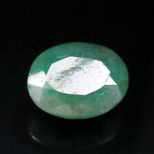 6.85Cts Natural Oval Cut Translucent Green Colombian Emerald Gemstone CH 7124
