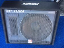 PEAVEY SP115M PASSIVE SPEAKER WEDGE MONITOR 250W RMS 1000W PEAK PA BAND STAGE