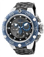 25068 Invicta Subaqua Noma VI Swiss Quartz Chrono Mens 50mm Leather Strap Watch