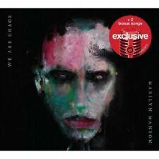 Marilyn Manson - We Are Chaos [Deluxe CD] 2 bonus tracks Brand New & Sealed
