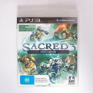 Sacred 3 First Edition - Sony Playstation 3 PS3 - Free Postage + Manual