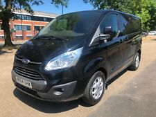 2014 FORD TRANSIT CUSTOM 2.2 LIMITED 270 SWB VAN IN BLACK EURO 5 - 125PS