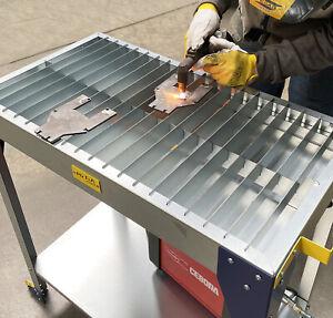 MegaMaxx UK™ Handheld Plasma Cutter Cutting Table Workbench Hypertherm CNC Esab