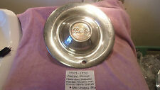 1949-1950 PONTIAC CHIEFTAIN DELUXE GENUINE VINTAGE CHROME HUBCAP FREE SHIPPING