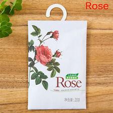 5 Taste Fresh Air Scented Fragrance Home WardrobeDrawer Carperfume Sachet Bag 3c Rose