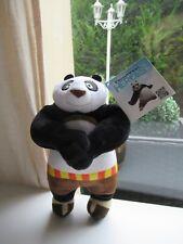 ☺ Peluche Doudou Kung Fu Panda DreamWorks 21 Cm Neuf Avec Étiquette