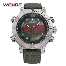 WEIDE Sport Watch Quartz Watches Military Men Digital Hours Analog Wristwatch