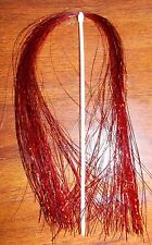 New listing Red Holographic Flashabou Fly Tying Material