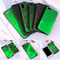 Thermal Discoloration Change Color Phone Case Soft Cover For iPhone X 8 7 6 Plus