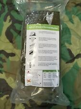 Two Rivers Medical Blizzard Survival Blanket OD Green NEW Thermal Blanket