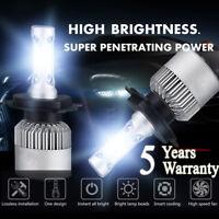 H4 9003 980W 147000LM CREE LED Conversion Headlight KIT Hi/Low Beam 6000K White