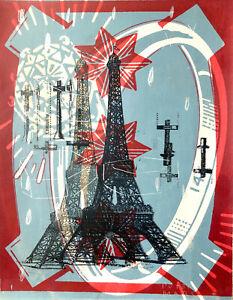 Peter Mars Eiffel Tower Art Paris Champ De Mars France Monuments Travel Iconic