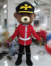 Teddy Bear Mascot Costume Uniform Outfit Animal Adult Cosplay Party Dress Animal