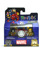Marvel Minimates Phoenix Five Colossus & Emma Frost TRU Series 16 Toys-R-Us New