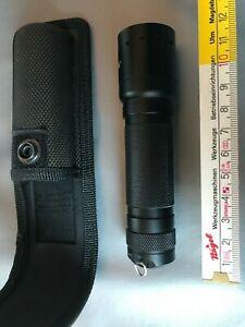 Taschenlampe m Holster LED LENSER  i2  Polizei Ausführung Stablampe Gürteltasche