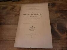 1914.Régime consulaire en Bretagne.Ille et Vilaine.Benaerts