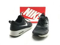 Nike Air Max Thea Women's Black/White Sneakers Running Shoes US Sz 8 M #A499