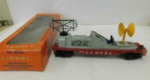LIONEL 3540 OPERATING RADAR CAR