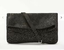 Becksondergaard Fera Bag, Black. Sparkle Clutch Bag. Cross Over Evening Bag.