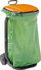 Cube Bag Bin for Garden Trolley Dustpan Grass Blades Waste Exterior