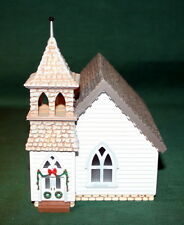 HALLMARK ORNAMENTS 1994 SARAH, PLAIN AND TALL-THE COUNTRY CHURCH