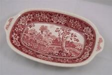 Villeroy & and Boch RUSTICANA RED oval vegetable bowl / dish 31cm