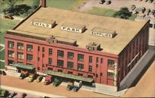 St. Louis MO AJ Child & Sons Merc Co Farm Supplies Linen Adv Postcard