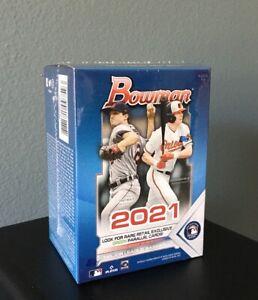 2021 Topps MLB Bowman Baseball Blaster Box New Factory Sealed