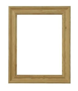 Tailored Frames-Ogee Natural solid wood Picture Photo frame. with safety glass.