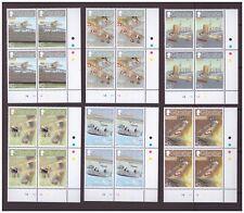 Gibraltar MNH 2009 Naval Aviation Planes mint set blocks cylinder stamps