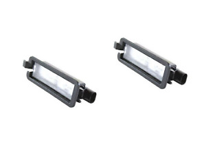 17-19 Chrysler Pacifica License Plate Lamp Factory Mopar New Oem Set of 2