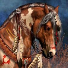 Horse Feather Jewelry 5D Diamond Painting Embroidery Cross Stitch DIY Art Kit