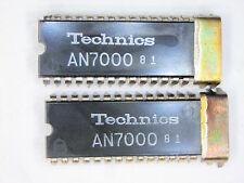 """AN7000  """"Original"""" Panasonic (Matsushita)   28P DIP IC  with heat sink tab 2 pcs"""