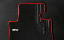 BMW 428i 435i  F33 Convertible Carpet Floor Mats Sport Black Red Front Rear OEM