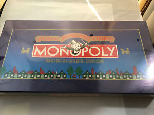 """MONOPOLY """"DELUXE ANNIVERSARY EDITION"""" (No.0007) 1984 never opened !!!!!"""