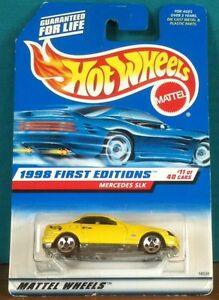 1998 First Editions Mercedes SLK - #11 of 40 Hot Wheels #646 Tan Interior