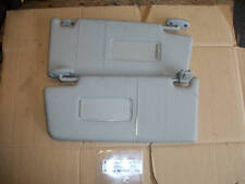 FORD MONDEO MK3 2001-2007 PAIR OF GREY SUN VISORS WITH 2 MIRRORS