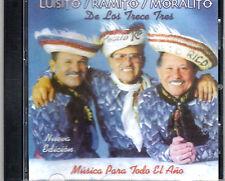 LUISITO ,RAMITO Y MORALITO - DE LOS TRECE TRES - CD